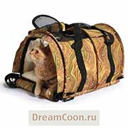 Переноска SturdiBag Large Crazy Kitty Limited Edition